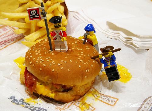 Burger King | a LEGO a day