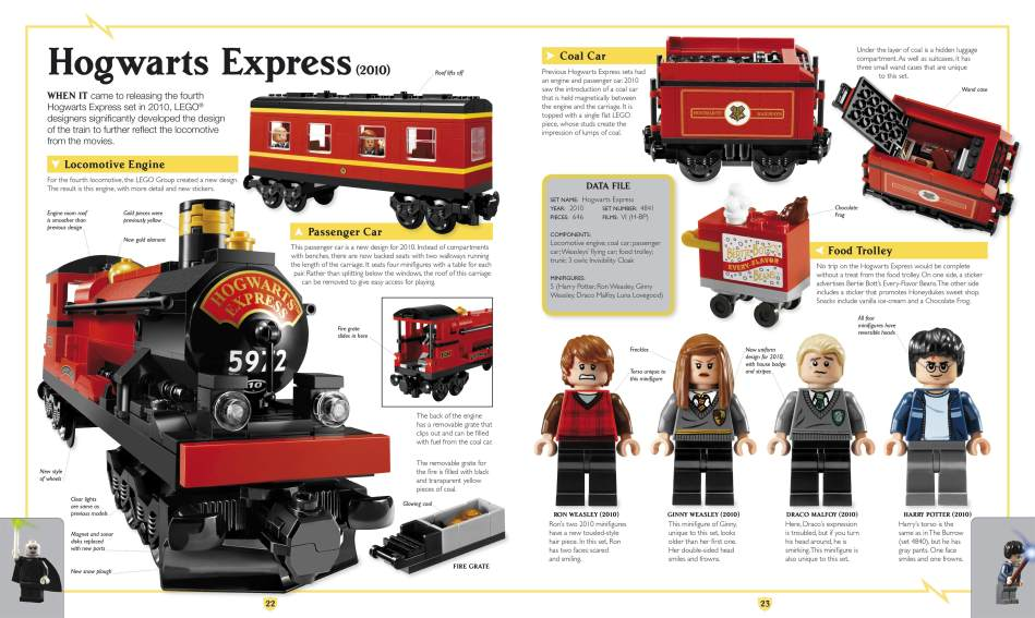 Lego Building Instructions Hogwarts Train