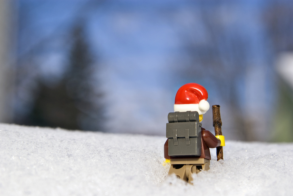 Hiking LEGO Picture